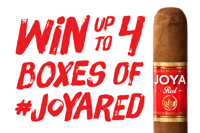 joya red giveaway