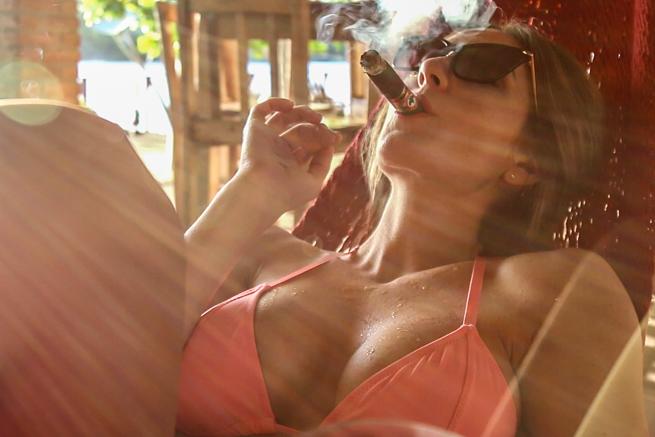 cigar vixen niaragua is hot granada 2 of 6