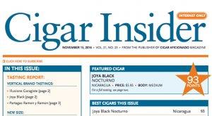 cigar insider joya black