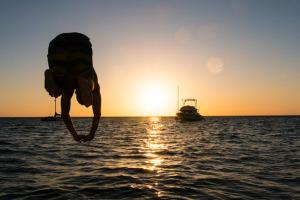 cigar vixen nicaragua sunset jump
