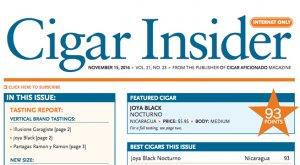 cigar insider joya black