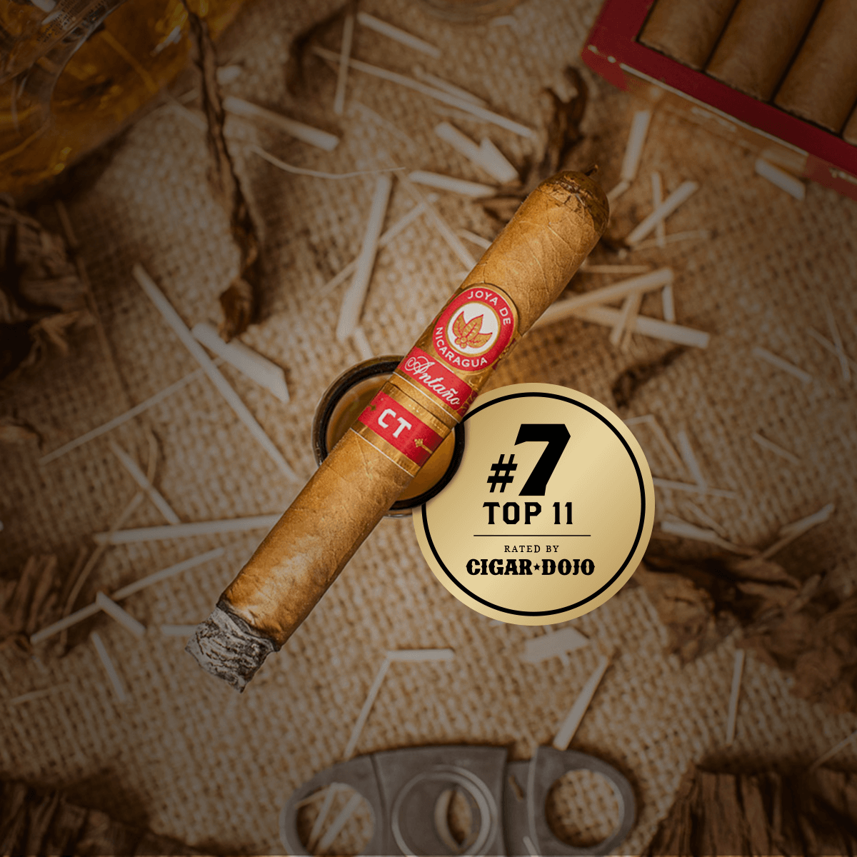 Antano CT Cigar Dojo Top 11