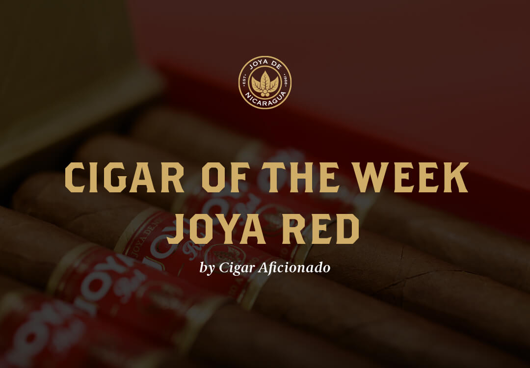 cigar of the week - joya red