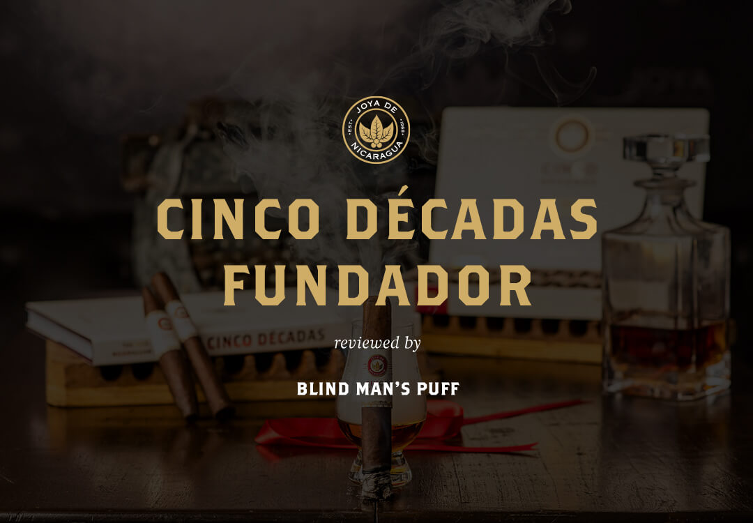 Cigar Review Cinco Decadas Fundador